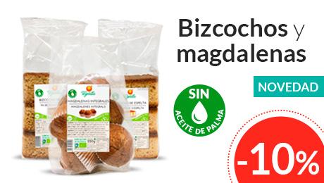 Mayo - Bizcochos y magdalenas Vegetalia