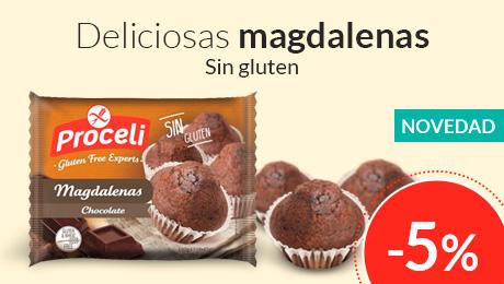 Febrero- Nuevas magdalenas choco Proceli