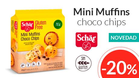 Abril - Mini muffins choco chips Dr. Schar