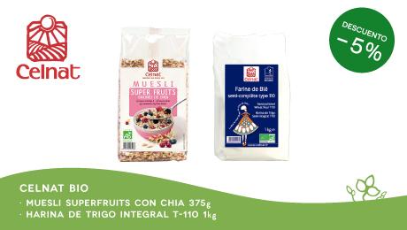 Noviembre - Muesli y harina Celnat