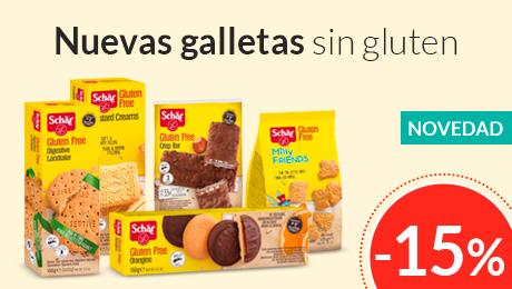 Noviembre- Nuevas galletas sin gluten schar