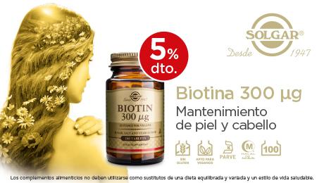 Noviembre - Biotina solgar