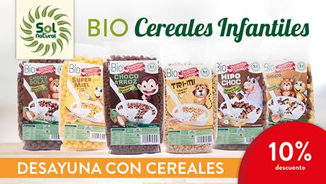 Diciembre - Cereales infantiles bio Solnatural