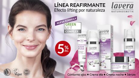 Febrero- Linea facial reafirmante Lavera