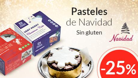 Navidad- Pasteles sin gluten