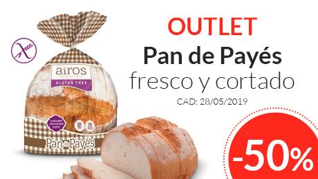 Outlet - Pan de payés fresco y cortado Airos