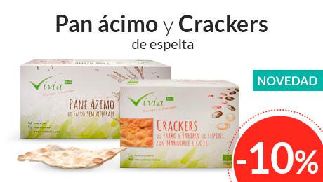 Octubre - Pan y crackers Vivia Bio