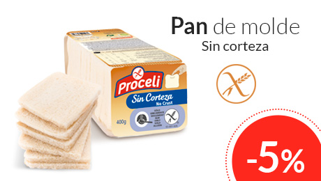 Noviembre- Pan de molde sin corteza Proceli
