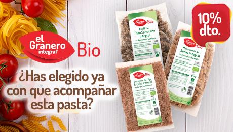 Diciembre 2019 - Pasta bio granero integral