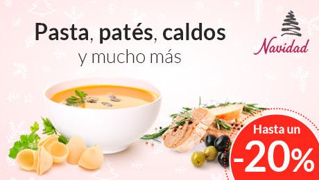 Navidad - Pasta, patés y caldos