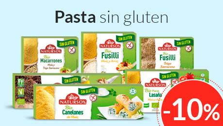 Julio - Pasta sin gluten Natursoy