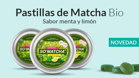 Mayo - Pastillas de matcha bio