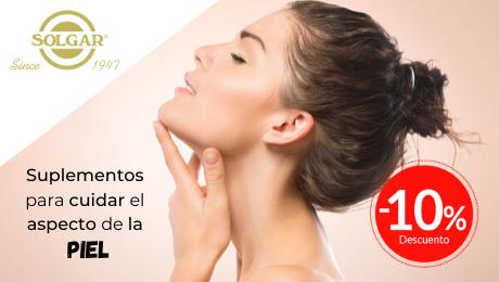 Mayo 2020 Gama suplementos para la piel Solgar