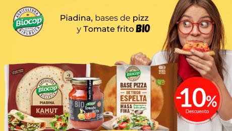 Mayo 2020 Piadina, pizza y tomate frito Biocop