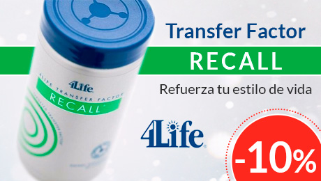 Junio 2019 - Transfer Factor Recall - 4life