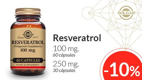 Agosto 2019 - Resveratrol Solgar
