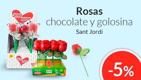 Abril - Rosas para Sant Jordi