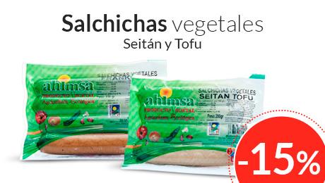 Agosto- Salchichas vegetales Ahimsa