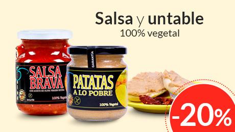 Abril - Salsa y untable 100% vegetal