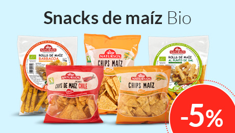 julio - Snacks de maíz Natursoy