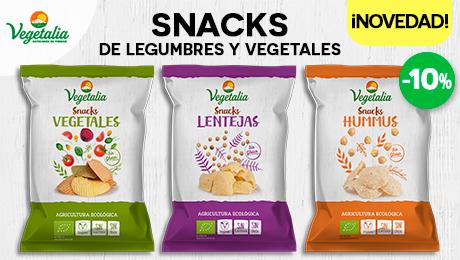 Febrero- Snacks bio vegetalia