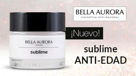 Agosto 2019 - Crema antiedad Sublime Bella Aurora