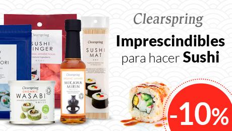 Agosto 2019 - Productos para sushi Clearspring