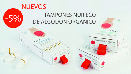 Mayo - Tampones Nur Eco de algodón orgánico