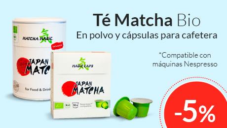 Mayo - Tés bio Matcha Magic