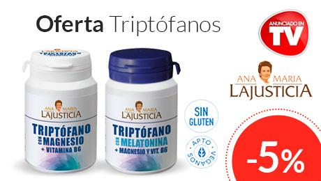 Marzo - Oferta especial Triptofanos Ana M LaJusticia