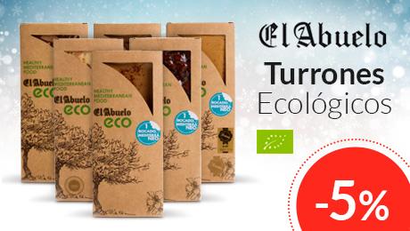 Navidad 2019 - Turrones ecológicos El Abuelo