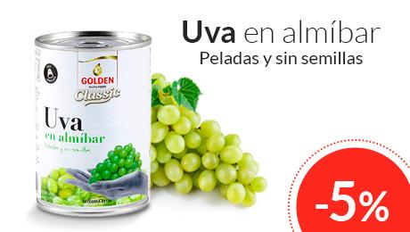 Abril - Uva en almíbar Golden Quality Foods