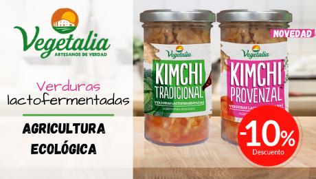 Junio 2020 Lactofermentados Kimchi Vegetalia