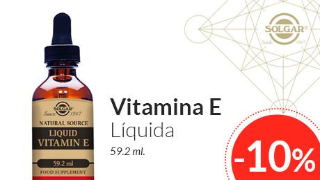 Agosto 2019 - Vitamina E líquida Solgar