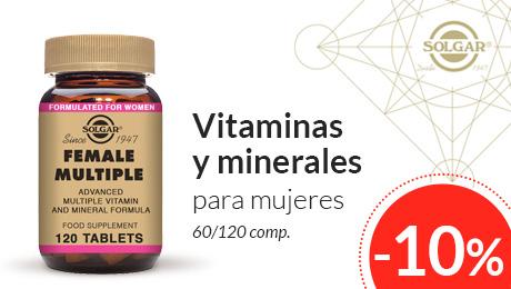 Septiembre 2019 - Vitaminas para la mujer Solgar