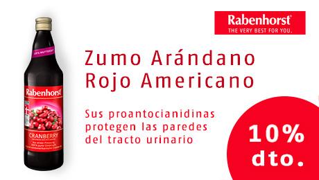 Agosto 2019 - zumo arandano rojo americano Rabenhorst