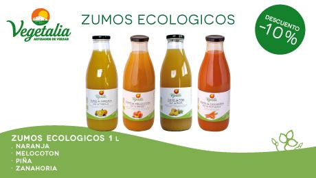 Julio- Ofertas zumos eco vegetalia