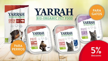 Agosto 2019 - Comida para perros y gatos bio Yarrah