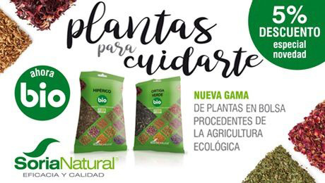 Mayo - Plantas para cuidarte Soria Natural