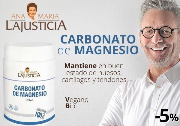 Ana Maria Lajusticia Carbonato de Magnesio