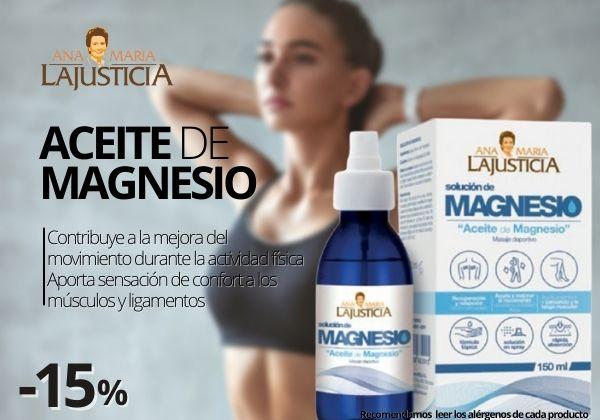 Ana Maria Lajusticia Aceite de Magnesio