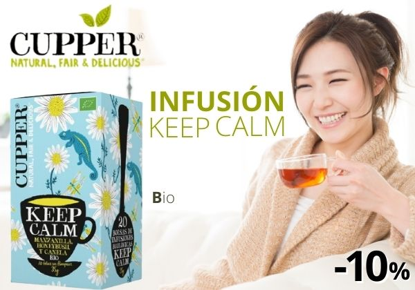 Cupper infusion Keep Kalm