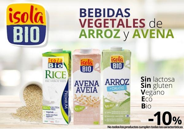 Bebidas vegetales Isola