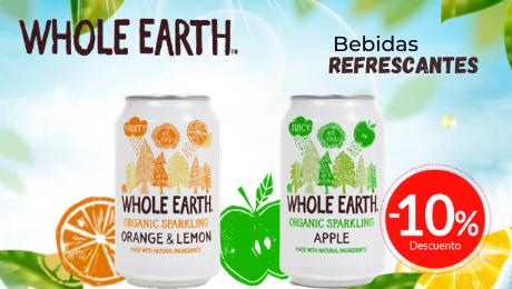 Bebidas Whole Earth